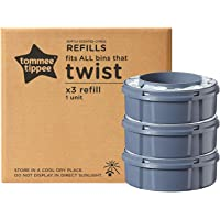 Tommee Tippee Ricariche Sangenic TEC per Sistema Avanzato di Smaltimento Pannolini Twist and Click, 3 Pezzi (compatibile…