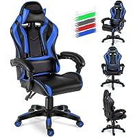 Twomaples Gaming Stuhl, Racing Computerstuhl Ergonomischer Bürostuhl, Drehbar Höhenverstellbar Gaming Chair, PC Stuhl…