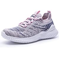 Women's Trainers Slip On Walking Shoes Athletic Running Shoes Lightweight Tennis Sneaker