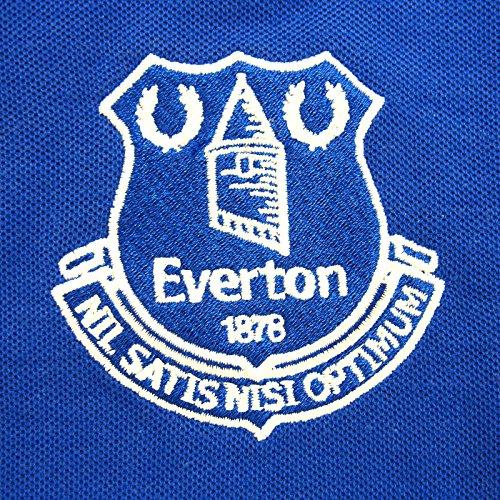 Everton FC - Herren Polo-Shirt mit Vereinswappen - Offizielles Merchandise - Geschenk für Fußballfans Königsblau