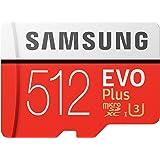 SAMSUNG EVO Plus 512GB microSD + Adaptador