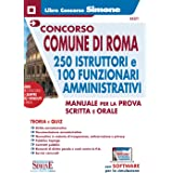 Concorso Comune di Roma. 250 istruttori e 100 funzionari amministrativi