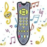 Uokoki Juguetes para bebés Música TV Control Remoto Juguetes educativos tempranos Niños Controlador eléctrico Máquina de Apre