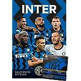 Calendario Inter 2021 + tris braccialetti cm 29x42