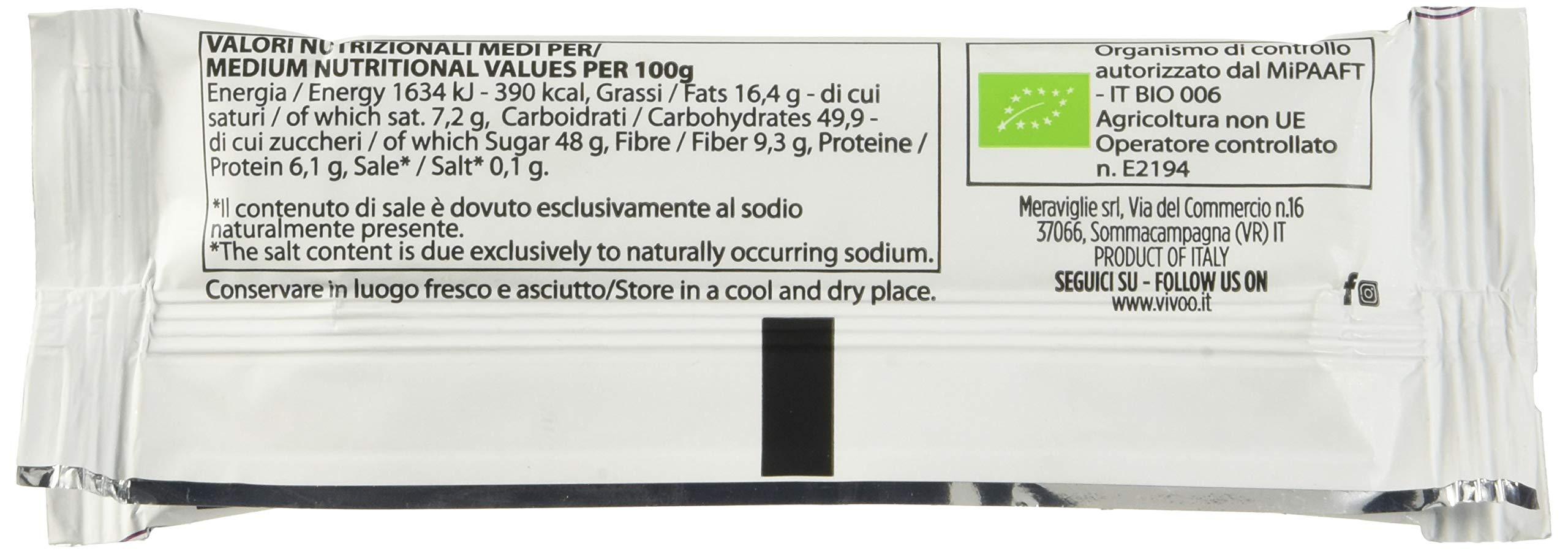 Vivoo Tonica - Barretta Energetica - Fondente e Zenzero - 16 Confezioni da 35 g 5 spesavip