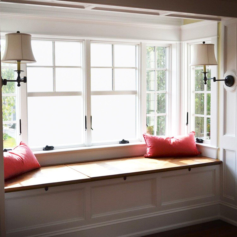 Amazon Aingoo Fensterfolie Sichtschutzfolie Fenster Folie