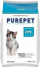 Purepet Ocean Fish Kitten Cat Food, 1.2kg