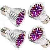 40W LED élèvent la pleine ampoule de spectre d'ampoule pour des plantes d'intérieur végétal Veg fleur (4 Pack)