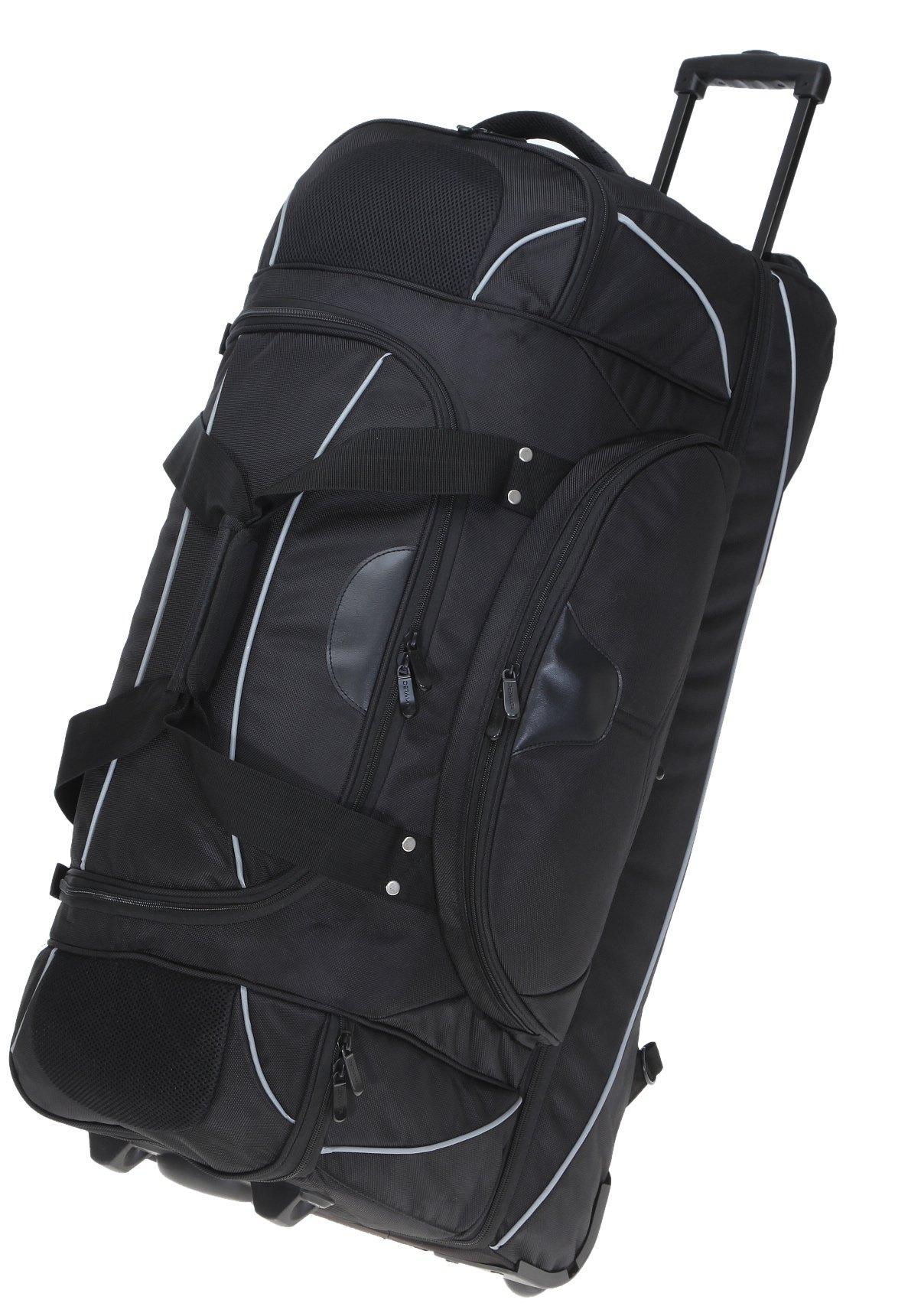 Dermata-Reisetrolley-BIGPACK-83-cm-XXL-mit-Sandwich-Klappboden-Kofferschlo-FlssigkeitenbeutelAuswahl