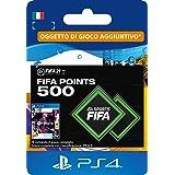 FIFA 21 Ultimate Team 500 FIFA Points | Codice download per PS4 (incl. upgrade gratuito a PS5)- Account italiano
