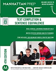 GRE Text Completion & Sentence Equivalence (Manhattan Prep GRE Strategy Guides)