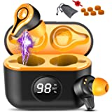 Ecouteur Bluetooth, Ecouteurs sans Fil IP8 Etanche 150H Oreillette Bluetooth 5.0 TWS Stéréo, Banque d'alimentation Portable,