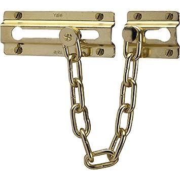 Yale Locks P1037CH Door Chain - Chrome Finish: Amazon.co.uk: DIY ...