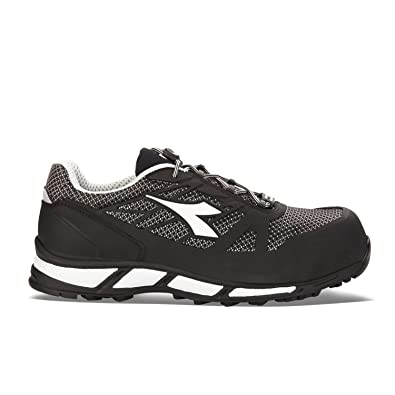 Diadora Trail Bright Low S1P SRA HRO, Chaussures de Sécurité Homme, Noir-Nero (80013 Nero), 42 EU