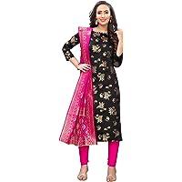 Being Banarasi women's floral woven cotton silk dress materia