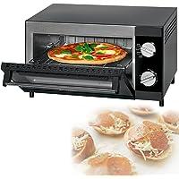 Mini four à pizza avec fonction grill et chaleur supérieure et inférieure Mini-four multi Four à pizza 12 litres…