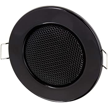 Hava haut parleur m tallique encastrable pour mur et plafond 3 w 80 mm d 39 encastrement 60 mm - Haut parleur encastrable plafond bose ...