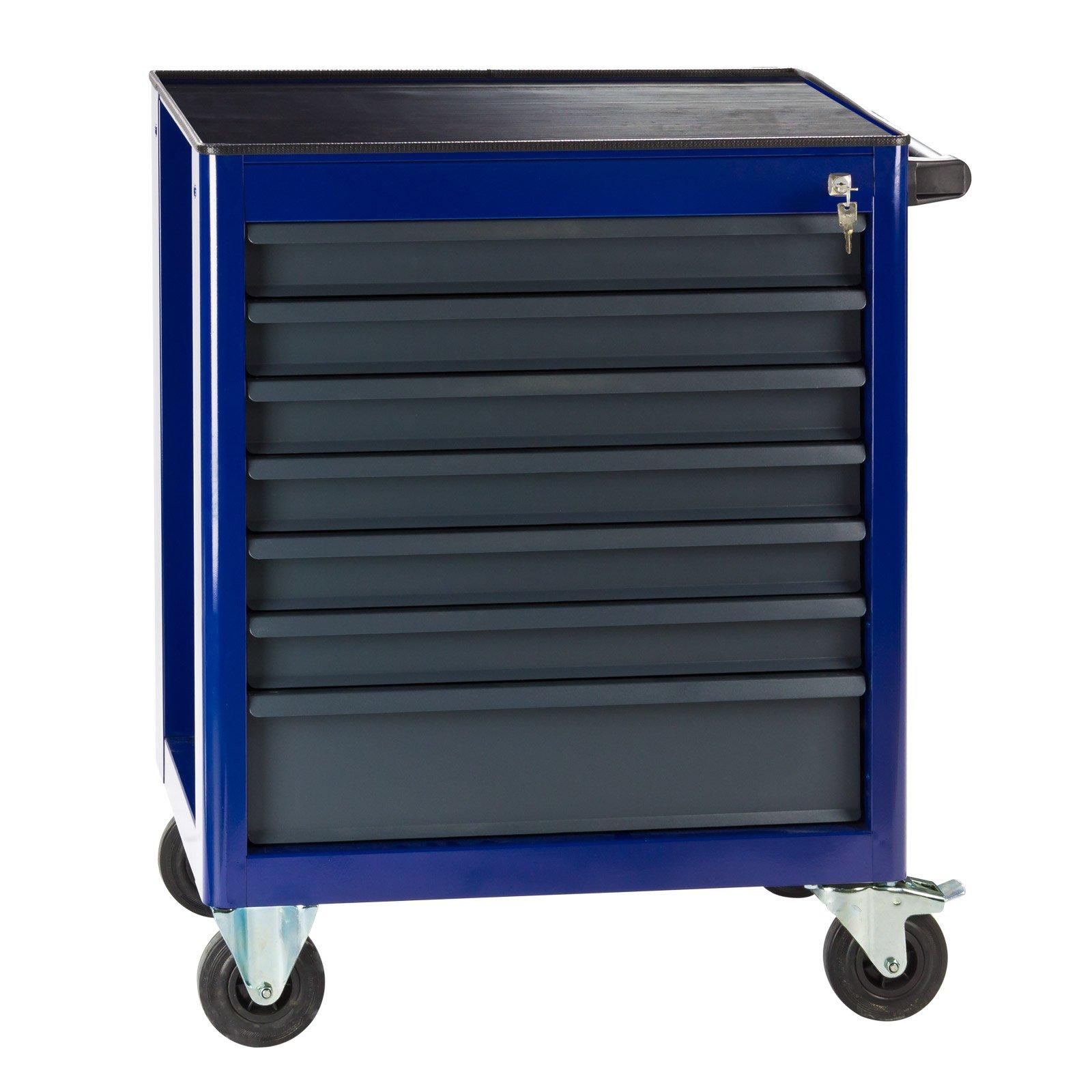 """DEMA Werkstattwagen """"Fernando"""" 7 Schubladen (920971-21379), blau"""