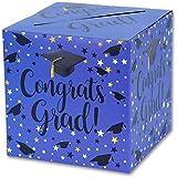 Graduation Box – Graduation Card Box, Graduation Party Decoration – 1 Set(BLUE)