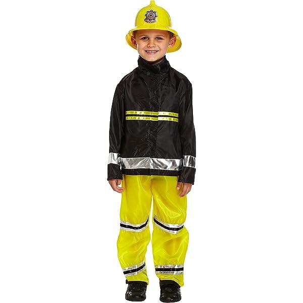 Fireman Sam Boys Fancy Dress Uniform Book Week Firefighter Childrens TV Costume