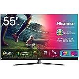 "Hisense 55U81QF Smart TV ULED Ultra HD 4K 55"", Quantum Dot, Dolby Vision HDR, HDR10+, Dolby Atmos, Full Array Local…"