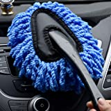 BATH CUBE Microfiber Brush Dusting Tool for Home, Car Seat, Wheel, Window Cleaning
