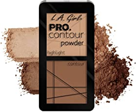 L.A Girl Medium Pro Contour Powder, Multicolor, 5.6g