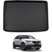 Nomad Auto Tailored Fit Durable Black Boot Liner Tray Mat Protector for Vauxhall Crossland X