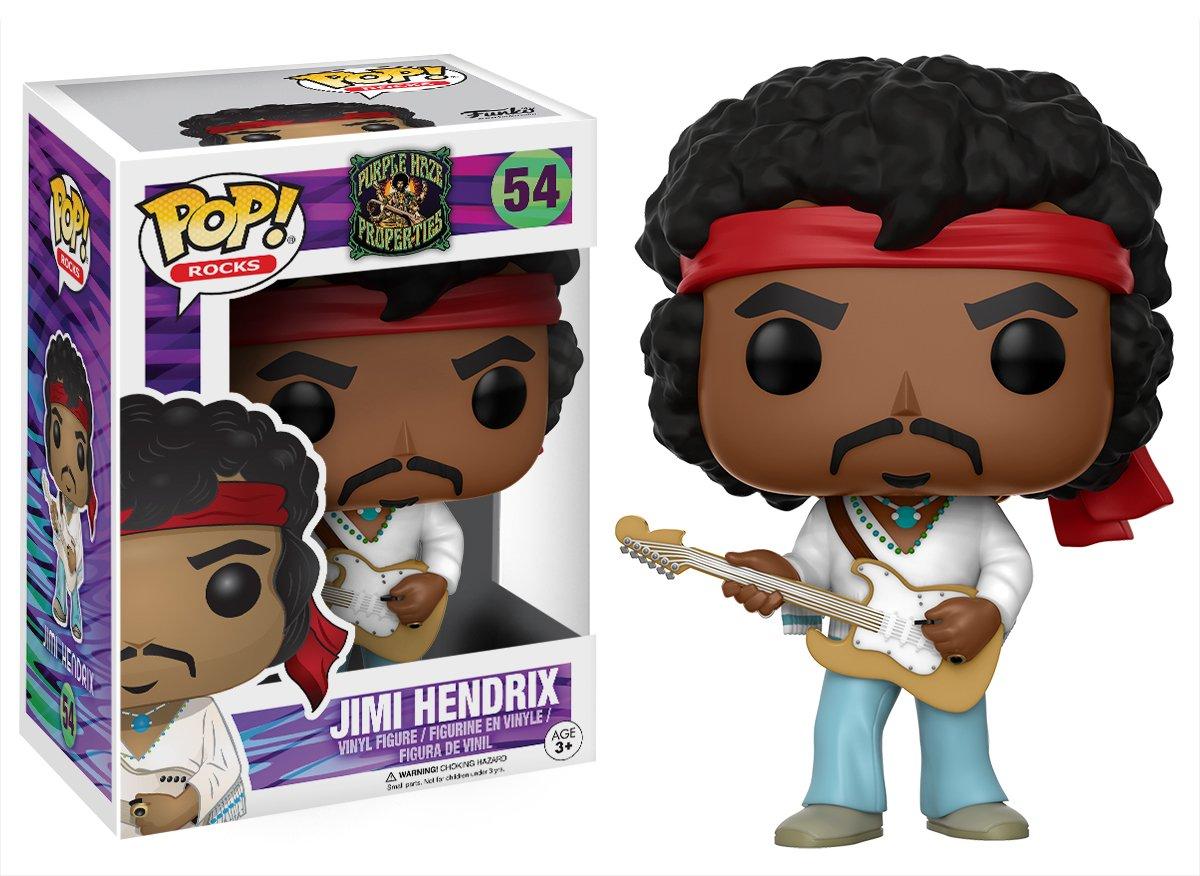 Funko Pop Jimi Hendrix Woodstock (Purple Haze Properties 54) Funko Pop Cantantes y Músicos