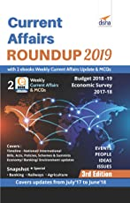 Current Affairs Roundup 2019 with 2 eBooks - Weekly Current Affairs Update & MCQs