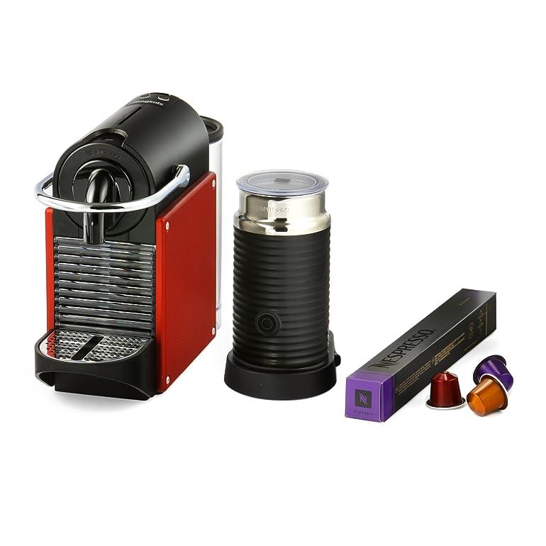 Nespresso Pixie Coffee Machine, Carmine Red by Magimix: Amazon.co ...