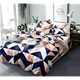 HOMERICA Premium Ac Comforter Set for King Size Double Bed (Comforter+BEDSHEET+2 Pillow Cover) (Candy, Double) 150 TC…