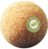 Massage Ball Set 5 cm Cork Ball, Fascia Ball Natural with Fascia Instructions Help & Bag for Trigger Zones Fascia Ball (Trigger Point Fascia Training) Plantar Fasciitis, Back and Shoulder Tension)