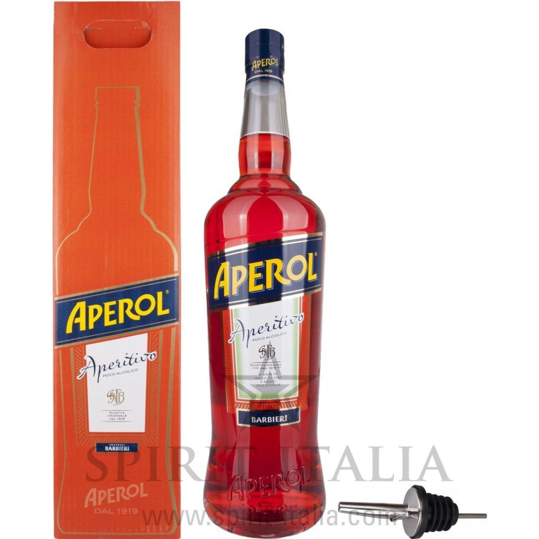 Aperol Aperitivo mit Flaschenausgiesser GB 11,00 % 3 l.