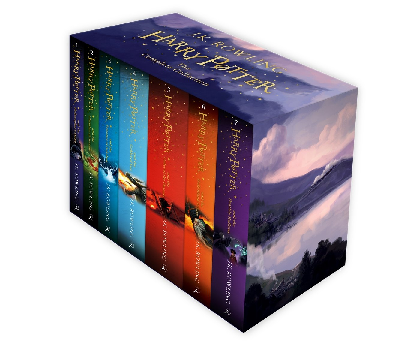 71rOzy4cyAL - Pack Harry Potter - The Complete Collection