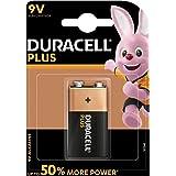 Duracell Plus batterij 9V (6LR61/MN1604), 1 stuk