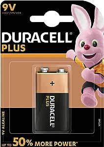 Duracell Plus 1 X 9 V Battery Mn1604 R22 Drogerie Körperpflege