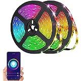 Eleadsouq LED Strip Light, WiFi 10M Smart RGB Rope Lighting, Color Changing APP Remote Control Tape Light, Home Decoration Mu
