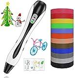 Lovebay Stylo 3D 3D Professionnel Pen Set Stylo d'impression 3D avec Ecran LCD+12 Multicolores Filament PLA Φ1,75 mm…
