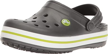 crocs Crocband Boys Clog in Grey