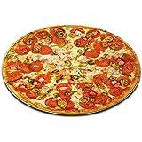 LB Essen Pfeffer Ring Wurst Pizza Badematte Runde Bereich Teppich Leben Zimmer Schlafzimmer Bad Küche Weich Teppich Bodenmatte Home Decor,120x120 cm
