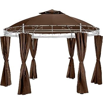 TecTake Tonnelle de Luxe Tente Ronde pavillon de Jardin d\'événement ...