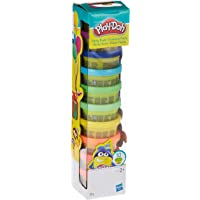 Play-Doh – 10 pots de Pate A Modeler - Couleurs Party Tube - 28 g chacun