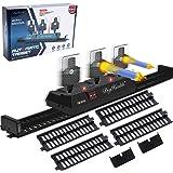 DigHealth Móvil Objetivo para Nerf Pistolas con Pista, Restablecimiento Automático, Objetivo Digital Electrónico con Efectos