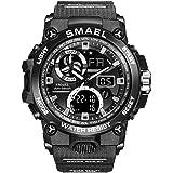 SMAEL Sport Watch Orologi Da Uomo Military Army 50m Orologi Da Polso Impermeabili Moda Uomo Orologi