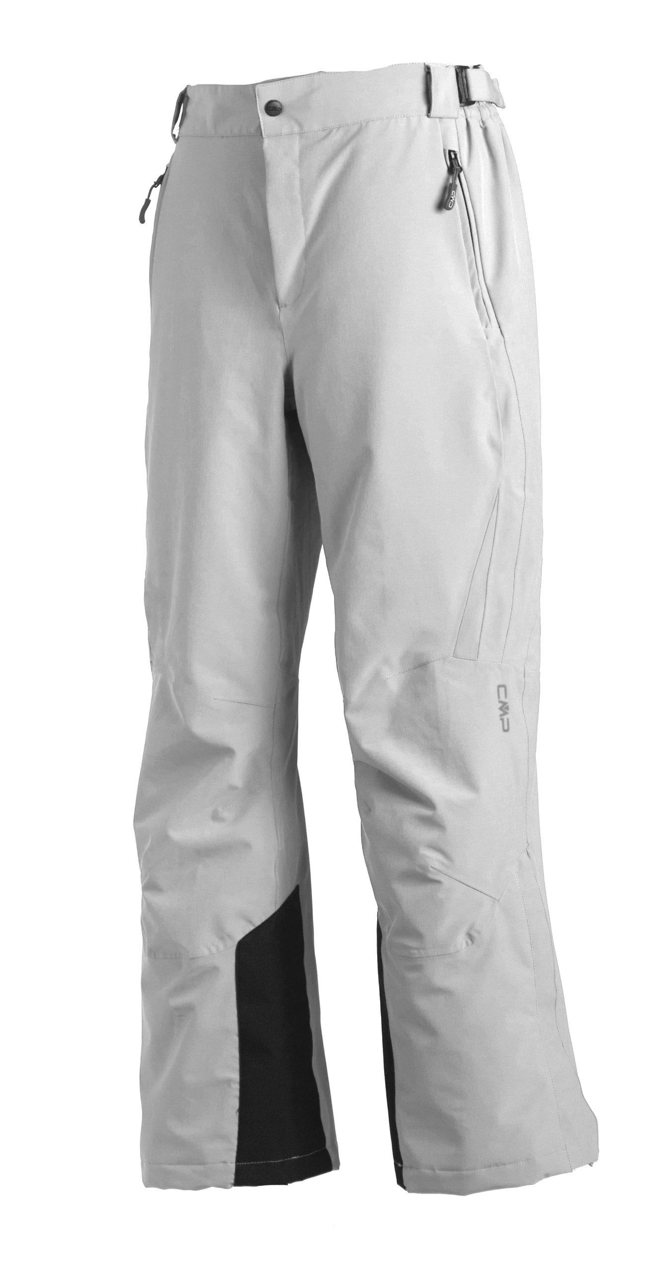 f2aa684222 CMP Skihose 3W18596N, Pantaloni Da Sci Donna, Bianco, 42