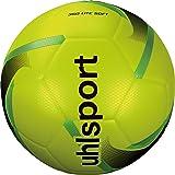 Uhlsport 350 Lite Soft Voetbal, Juventud, Unisex, neongeel/zwart/neongrijs, 5