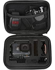 Pes Carrying Case Protective Camera Storage for GoPro Hero 5, GoPro Hero 6, GoPro Hero 7 Black 2018 (Small Size)