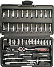 """Powergrip Pg-1246 46 Pcs 1/4"""" Socket Set"""