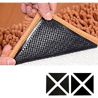 LUVODI Teppich Antirutschpad 8 Stück Antirutschmatte Teppichgreifer Wiederverwendbar Antirutsch Unterlage Teppichstopper…